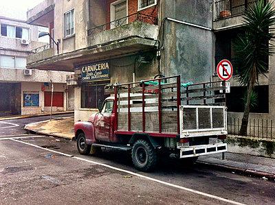 South America, Uruguay, Montevideo, Street View - p300m1010136 by Arist von S.