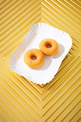 Two donuts - p1149m2284389 by Yvonne Röder