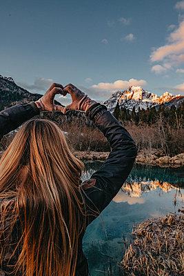 Verliebt in die Berge - p1455m2081764 von Ingmar Wein