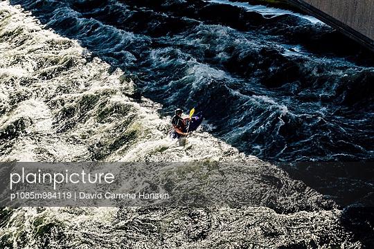 Wildwasser-Kajak - p1085m984119 von David Carreno Hansen