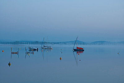 View of Lake Constance - p300m818744f by Brigitte Stehle