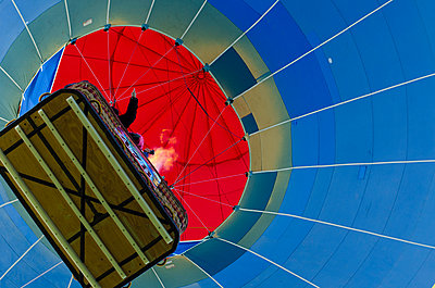 The Albuquerque International Balloon Fiesta draws spectators from around the world.  - p343m958143 by Jeremy Wade Shockley