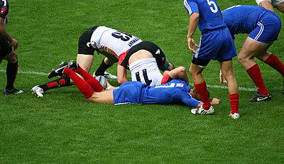 Rugbyspieler - p1620046 von Beate Bussenius