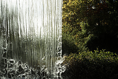 Water curtain - p445m1183644 by Marie Docher