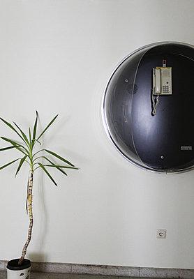 telefonzelle mit palme - p627m671205 by Hendrik Rauch