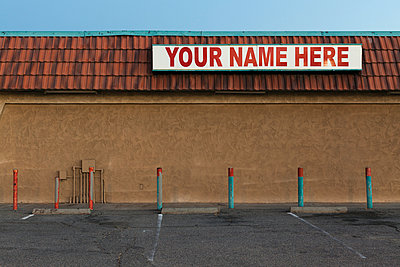 YOUR NAME HERE - p1094m900233 by Patrick Strattner