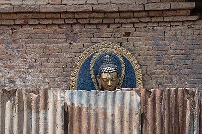 Tempelanlage Swayambhunath - p1243m1525623 von Archer