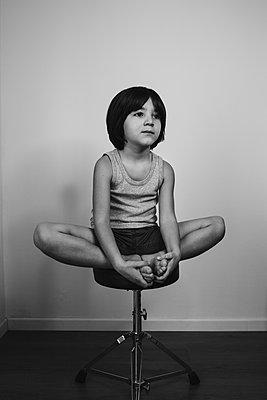 Child portrait - p1623m2272413 by Donatella Loi