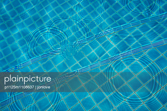 Pool with ripples - p1125m1108637 by jonlove