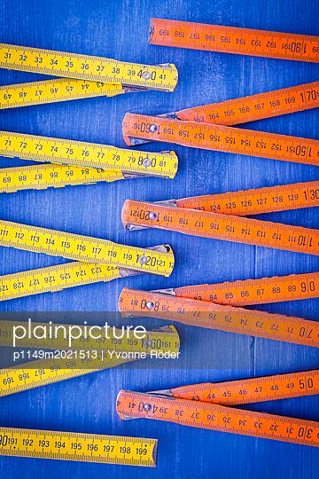 Meterstäbe - p1149m2021513 von Yvonne Röder
