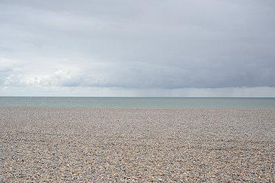Deserted beach - p1267m1201113 by Wolf Meier