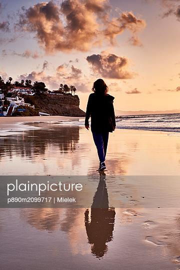 Beach walk - p890m2099717 by Mielek