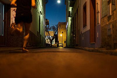Blue Hour in Olhão - p1545m2125084 by Caroline Wimmer