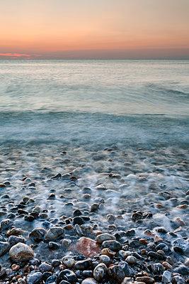 Sea falls asleep - p1245m1069386 by Catherine Minala