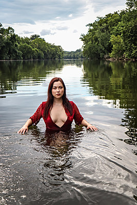 Siren of the Shenandoah River - p1019m2107519 by Stephen Carroll