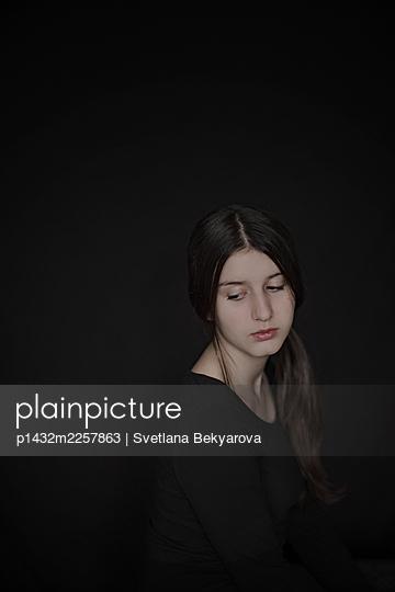Girl in black - p1432m2257863 by Svetlana Bekyarova