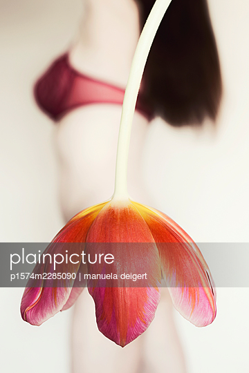 Tulip skirt - p1574m2285090 by manuela deigert