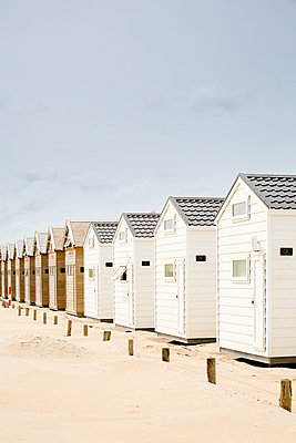 Bath houses in a row  - p1032m1139034 by Fuercho