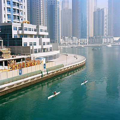 Marina Dubaï United-Arab-Emirates - p1097m882191 von Mélanie Bahuon