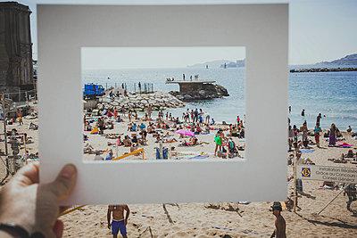 Strandurlaub - p445m1528749 von Marie Docher