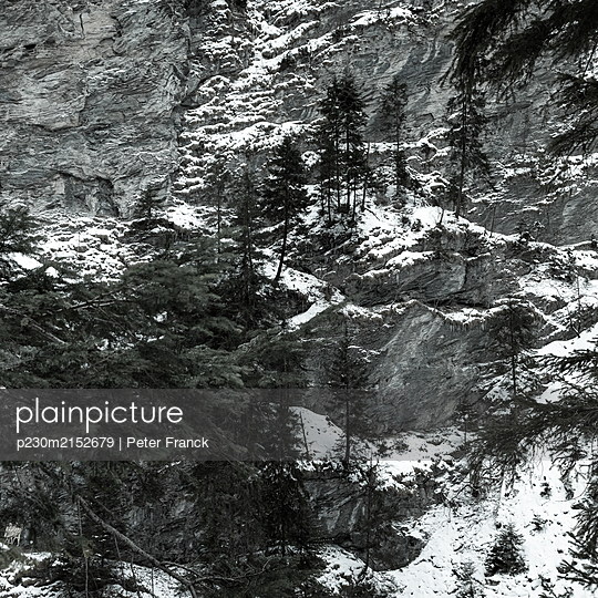 Switzerland, Gorge, Via Mala - p230m2152679 by Peter Franck