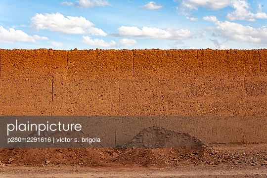 Cob Wall - p280m2291616 by victor s. brigola
