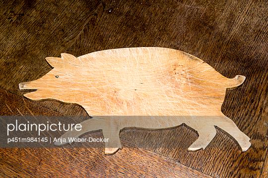 Holzbrett - p451m984145 von Anja Weber-Decker