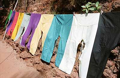 Clothes line - p0450192 by Jasmin Sander
