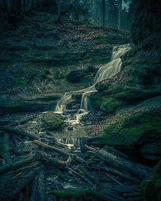 Dark waterfall - p1275m2291184 by cgimanufaktur