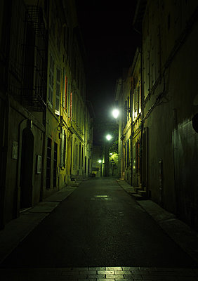 At night in Arles - p1096m880051 by Rajkumar Singh