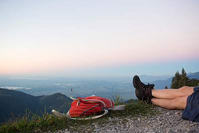 Having a rest - p454m1185065 by Lubitz + Dorner
