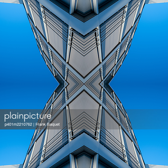 Abstract Architecture Kaleidoscope - p401m2210762 by Frank Baquet
