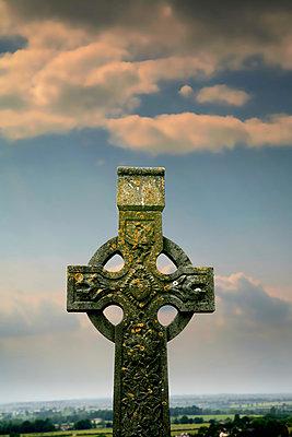 Keltisches Kreuz - p1038m931504 von BlueHouseProject