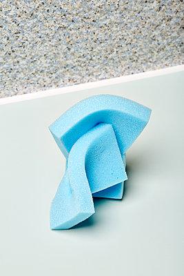Blue solid foam - p1673m2260772 by Jesse Untracht-Oakner