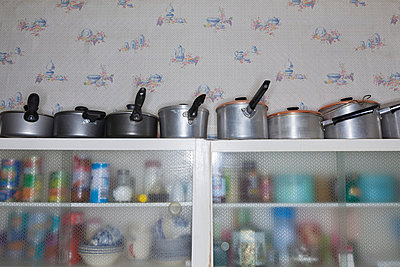 Kitchen utensils - p1057m817862 by Stephen Shepherd