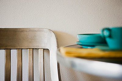 Dining Table and Chair - p5552113f by Lived In Images