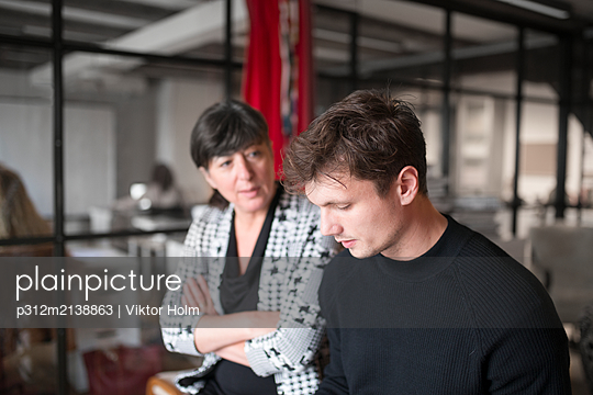 People in office - p312m2138863 by Viktor Holm