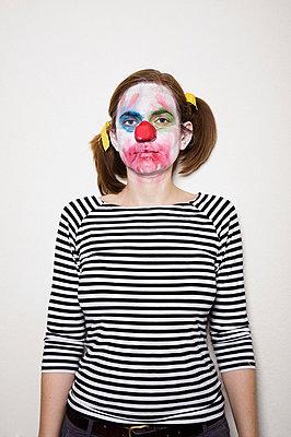 Clownin - p3580446 von Frank Muckenheim