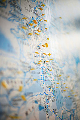 Europakarte - p1195m1195448 von Kathrin Brunnhofer