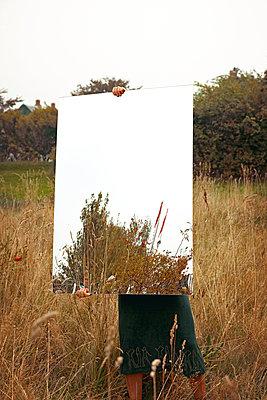 Nature in the mirror - p382m1591164 by Anna Matzen