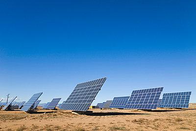 La Calahorra, Granada, Spain; Solar panels - p4429442f by Design Pics