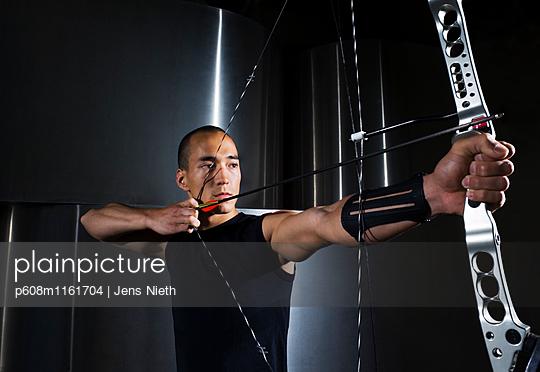 Bogenschießen - p608m1161704 von Jens Nieth