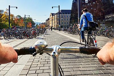 Bicylists - p1312m1515390 by Axel Killian