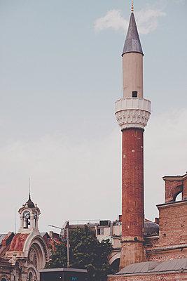 Minaret in Sofia - p795m1445892 by Janklein