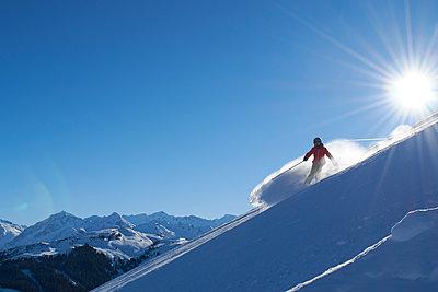 Downhill skiing - p961m1591468 by Mario Monaco