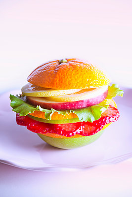 Veggie Burger - p1149m2089341 by Yvonne Röder