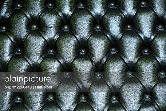 Green sofa - p427m2260449 by Ralf Mohr