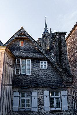 Altes Haus Mont Saint-Michel - p248m1516163 von BY