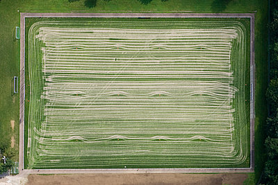 Soccer court - p356m990018 by Stephan Zirwes
