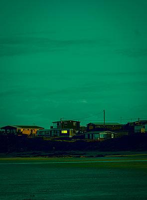 Ireland, Coast at twilight - p1681m2283693 by Juan Alfonso Solis